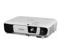 Epson EB-W41 LCD: 3×0.59″ P-Si TFT, WXGA (1280×800), 3600 ANSI lm, 15000:1